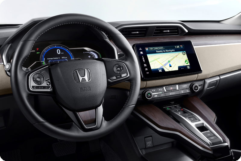 Photo of 2018 Honda Clarity Plug-In Hybrid dashboard