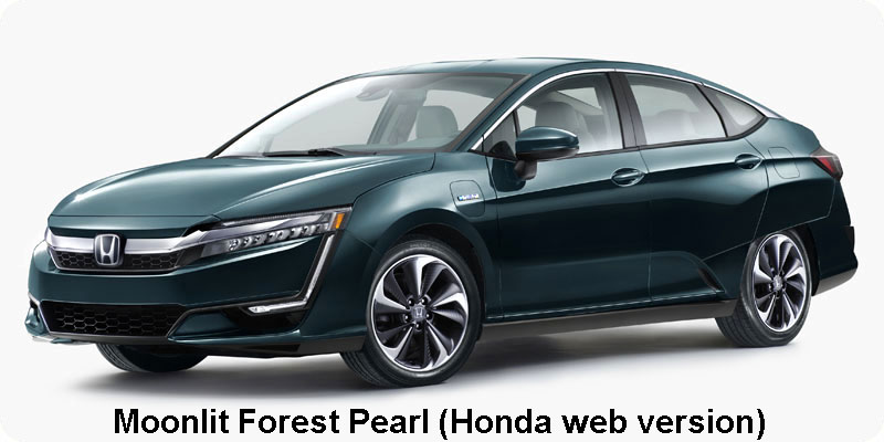Photo of 2018 Honda Clarity Plug-In Hybrid in Moonlit Forest Pearl