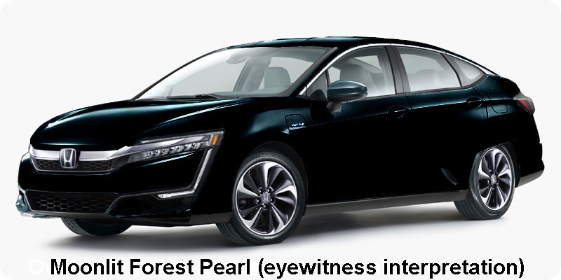 Photo of 2018 Honda Clarity Plug-In Hybrid in Moonlit Forest Pearl as an owner sees it
