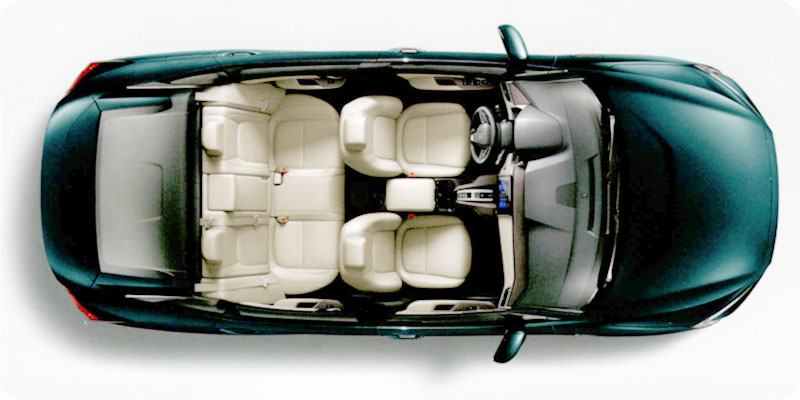 Photo of 2018 Honda Clarity Plug-In Hybrid top view cutaway