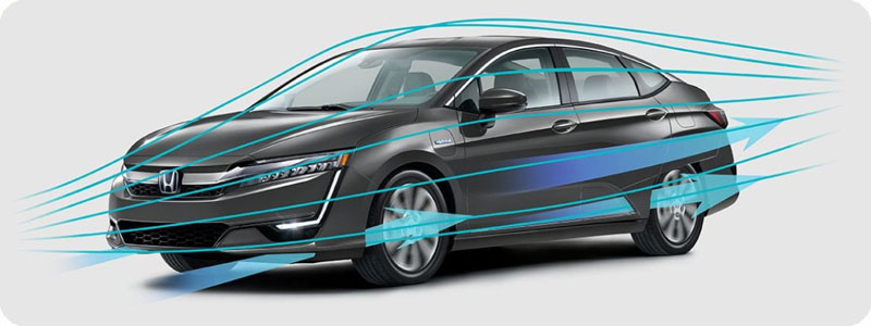 Photo of 2018 Honda Clarity Plug-In Hybrid aerodynamic airflow