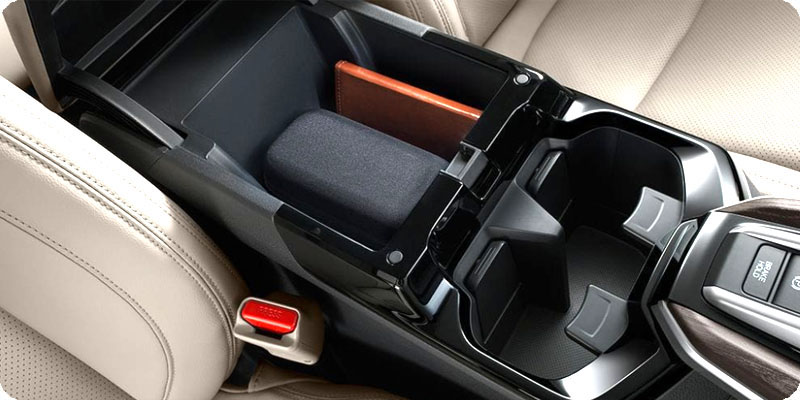 Photo of Clarity armrest storage bin