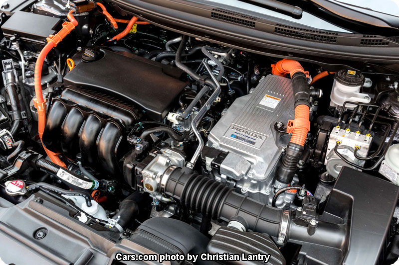Photo of 2018 Clarity Plug-In Hybrid engine