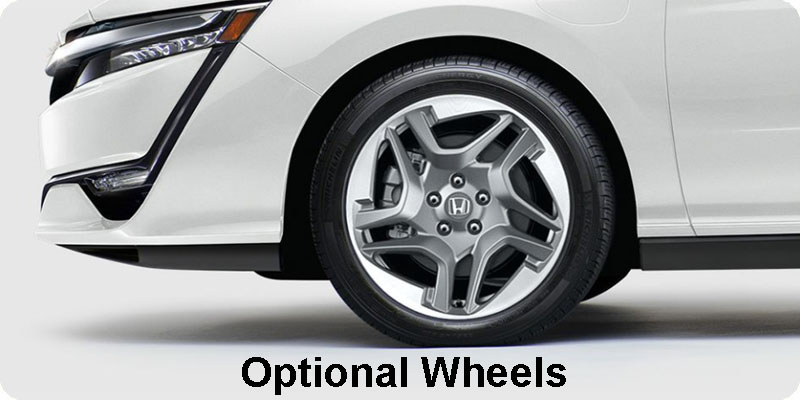 Photo of 2018 Honda Clarity Plug-In Hybrid optional wheels